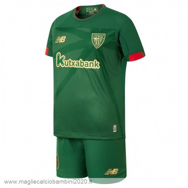 Away Conjunto De Bambino Athletic Bilbao 2019 2020 Verde Kit Calcio Offerta