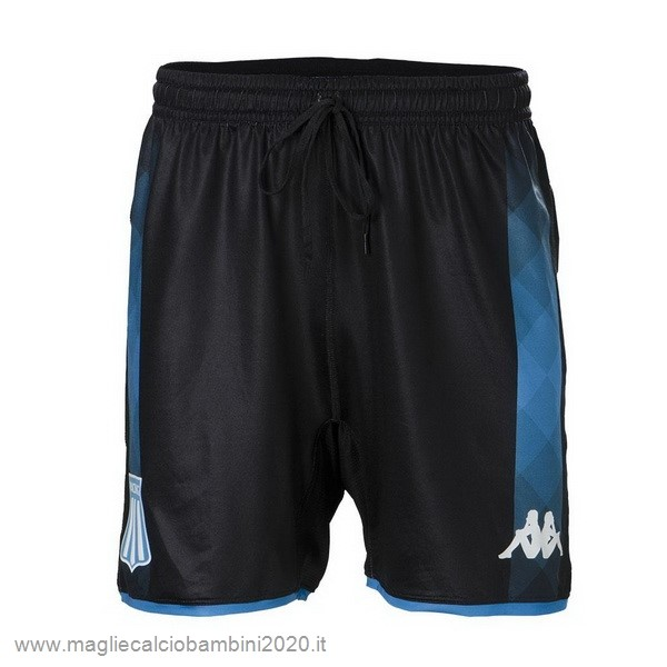 Away Pantaloni Racing Club 2019 2020 Nero Kit Calcio Offerta