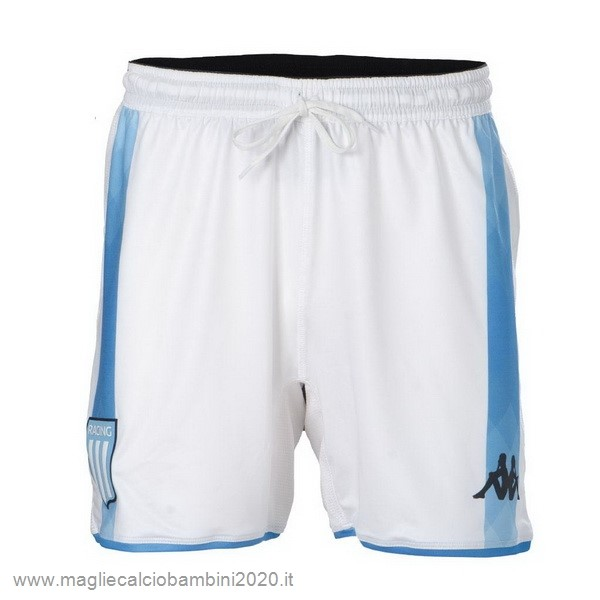Home Pantaloni Racing Club 2019 2020 Bianco Kit Calcio Offerta