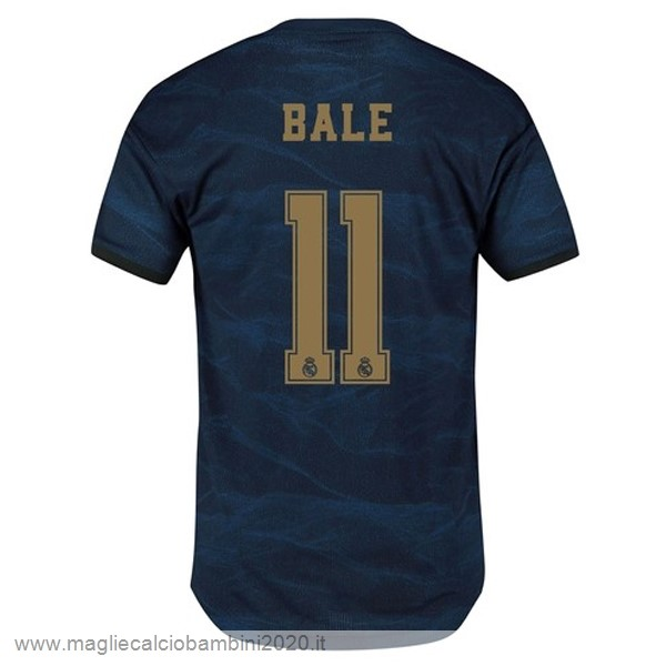 NO.11 Bale Away Maglia Real Madrid 2019 2020 Blu Kit Calcio Offerta